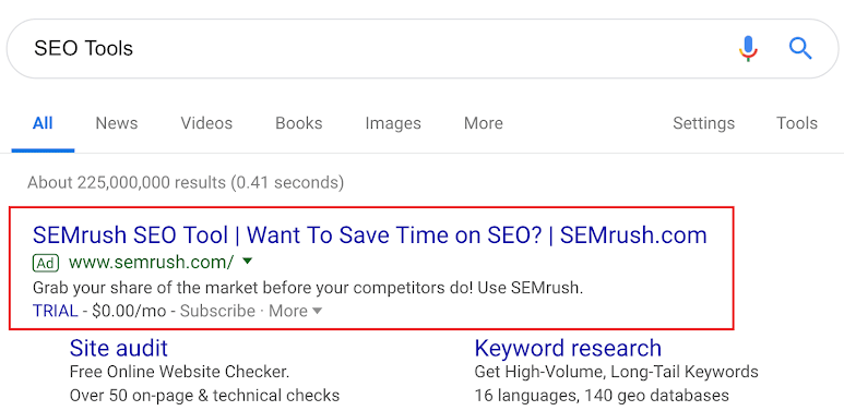Find An Opportunity Keyword